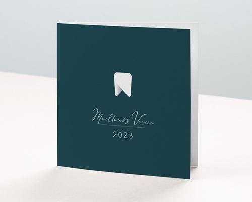 Carte de Voeux Entreprise Cabinet Dentaire, Prothésiste