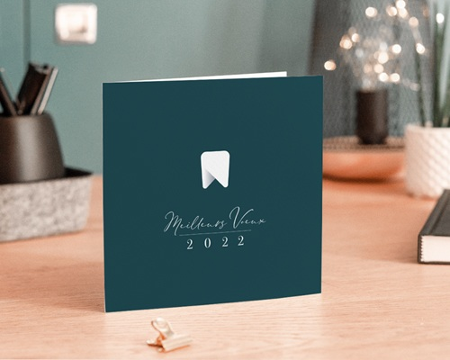 Carte de Voeux Entreprise Cabinet Dentaire, Prothésiste gratuit