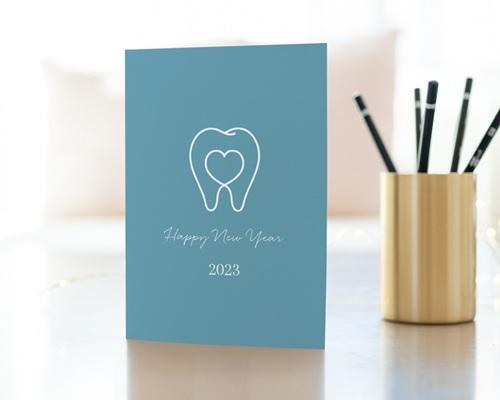 Carte de Voeux Entreprise Chirurgien Dentiste, Stomatologue gratuit