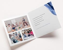 Carte de Voeux Entreprise Corporate, Peinture, Dorure pas cher