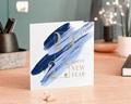 Carte de Voeux Entreprise Corporate, Peinture, Dorure gratuit
