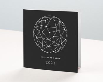 Carte de Voeux Entreprise 2021 Laboratoire, Réseaux de Communication