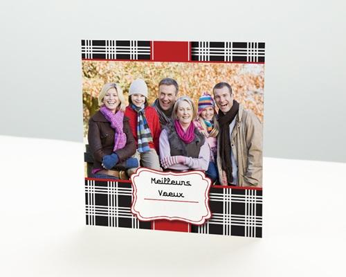 Carte de vœux particulier - Chics