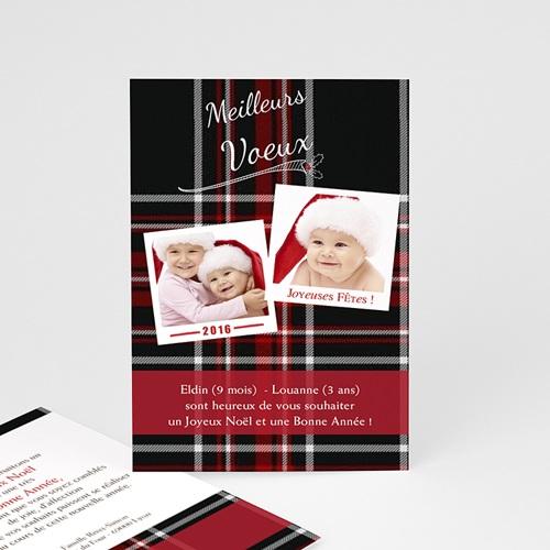 Carte de vœux particulier - Polaroid