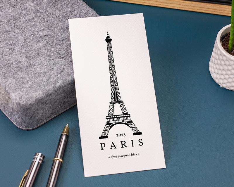 Carte de Voeux Entreprise Paris Voeux gratuit
