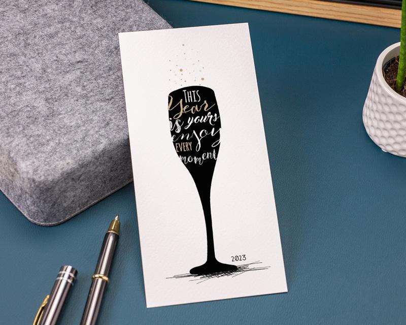 Carte de Voeux Entreprise À la nouvelle année ! gratuit