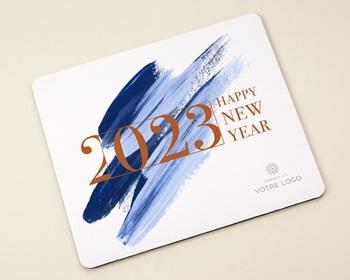 Objet Publicitaire Personnalisé Happy New Year, Effet peinture