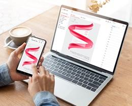 Carte Virtuelle Image Ecard, Ruban rouge et Or gratuit