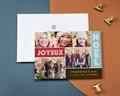 Carte de vœux particulier - Pêle-Mêle