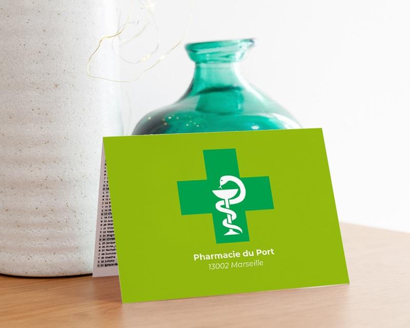 Calendrier entreprise Pharmacie gratuit