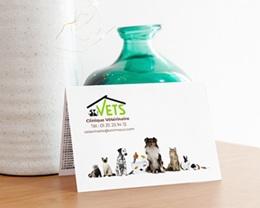 Calendrier avec logo d'entreprise Vétérinaire gratuit
