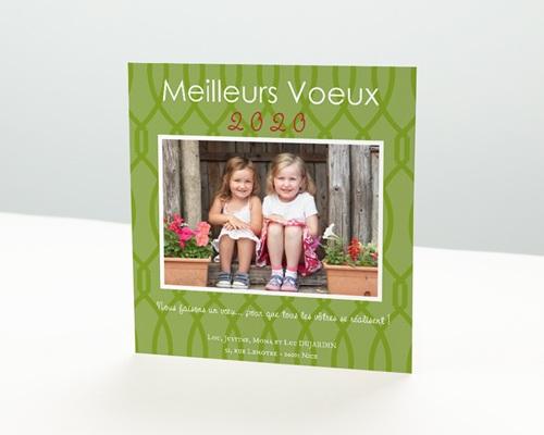 Carte de vœux particulier - Les plus belles...
