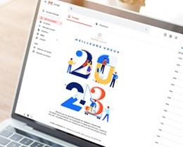 Carte Virtuelle Image Ecard, Corporate, Bâtiment, Isométrique pas cher