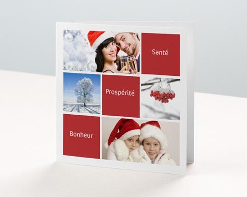 Carte de vœux particulier - Voeux de bonheur