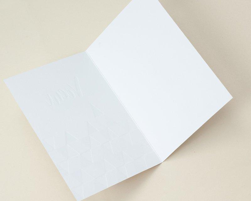 Carte de Voeux Entreprise Traditionnelle Jeux de Triangles Or, Noir, Blanc, Rose - Artik Collection gratuit