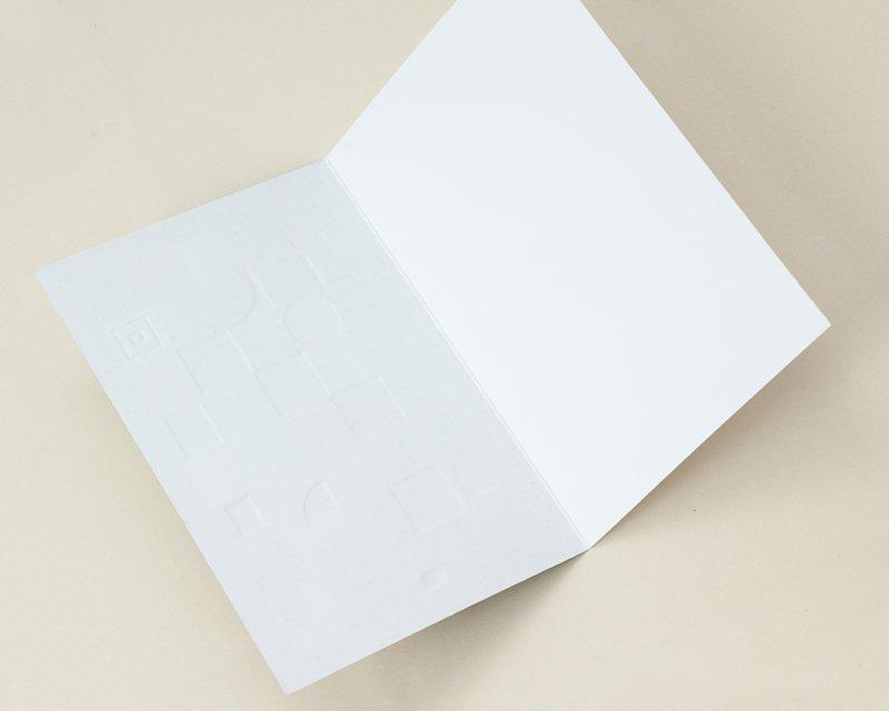 Carte de Voeux Entreprise Traditionnelle Bonne année graphique, jeu de lettrages - Artik Collection gratuit