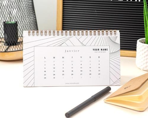Calendrier entreprise Architecte & Co pas cher