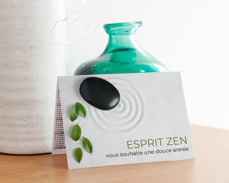 Calendrier entreprise Année Zen gratuit