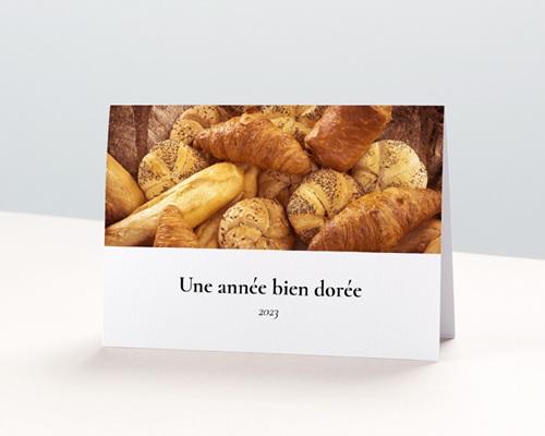 Calendrier entreprise Voeux Boulanger