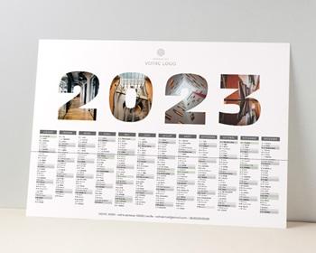 Calendrier entreprise 2022 Pro Chiffres