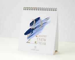Calendrier entreprise Multipages, Photos, Corporate, Peinture, 16x18 cm