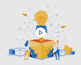 Carte Virtuelle Vidéo Idées Créatives, Boite à Idées, Fusée