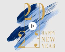 Carte Virtuelle Vidéo Corporate, Peinture, Dorure