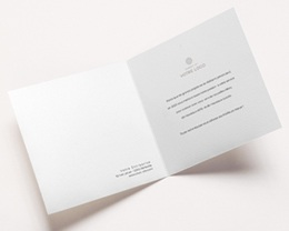 Carte de Voeux Entreprise Année calligraphiée & dorée pas cher
