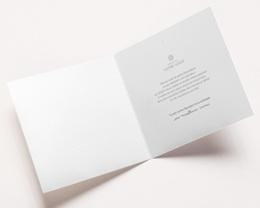 Carte de voeux avec logo d'entreprise Trio de formes, Tons nude & vert pas cher