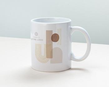 Mug entreprise 2022 personnalisé Arche & Tons Chocolatés