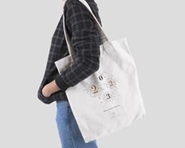 Tote Bag Entreprise Personnalisé Bonheur Festif