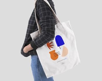 Tote Bag entreprise 2022 Personnalisé Couleurs de méditerranée, Inspi Matisse