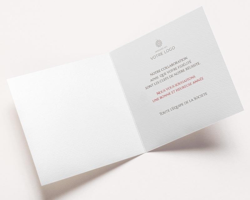 Carte de Voeux Entreprise Pêle-Mêle multi photos bois pas cher