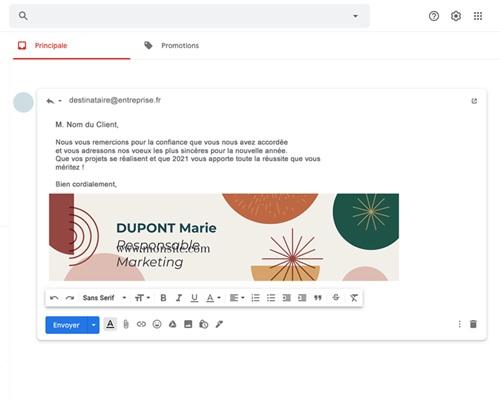 Carte Virtuelle Réseaux Sociaux Cercles colorés & Festifs, Pack Réseaux gratuit