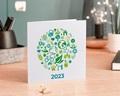 Carte de voeux entreprise - Écologique et vert