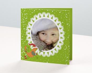Carte de vœux particulier - Le Charme couronné - 1