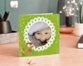 Carte de vœux particulier - Jolie carte avec enfant