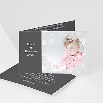 Carte de vœux particulier - Année étincelante - 1