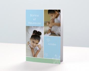 Carte de vœux particulier - Panaché de photos - 1