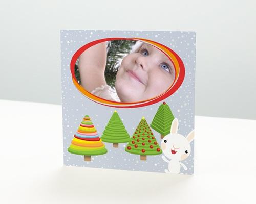 Carte de vœux particulier - Bébé