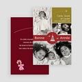 Carte de vœux particulier - Toute la famille