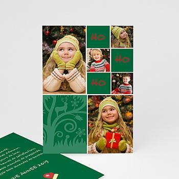 Carte de vœux particulier - OH OH OH - 1