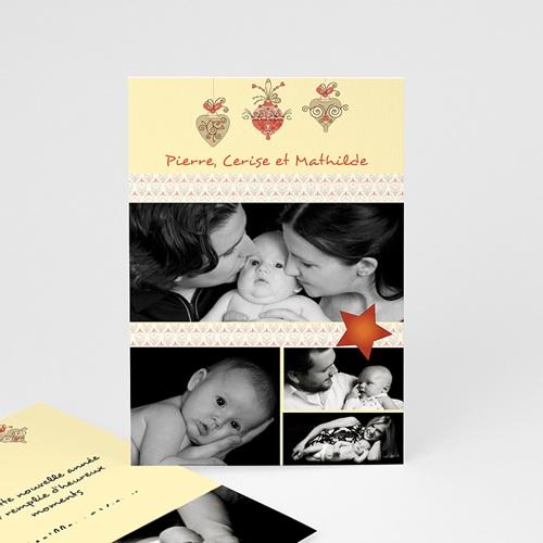 Carte de vœux particulier - Voeux Famille