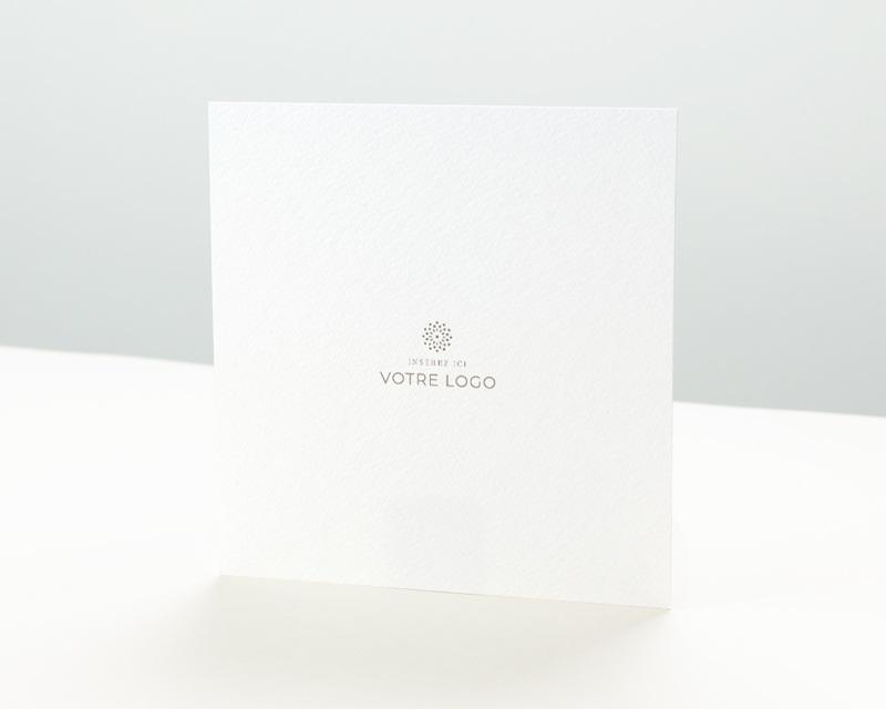 Carte de Voeux Entreprise Voeux 100% création