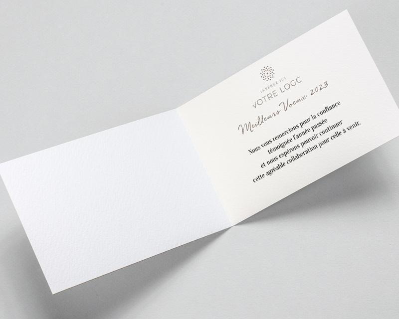 Carte de Voeux Entreprise Bel avenir pas cher