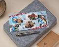 Carte de vœux particulier - Esprit scrapbooking
